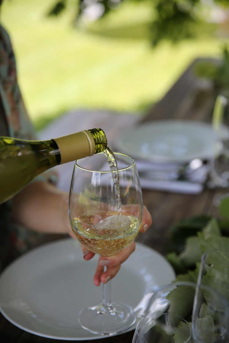 Wine Glass. -