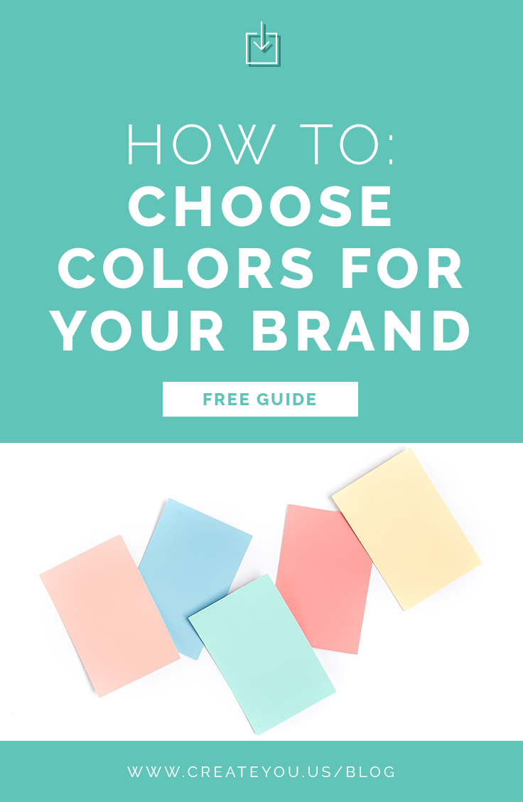 choose colors for your brand
