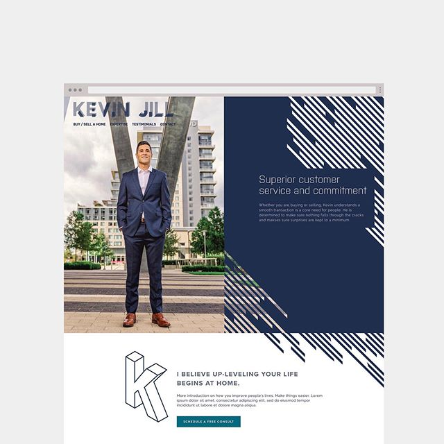 [Work in progress] When you're a real estate agent wanting to break out of the system and create your own brand. Who wants to use the the clunky, old school, company standard website and look like everyone else? Not Kevin. First time we will be using IDX integration with Squarespace. More to come with this one. @kevin_5487