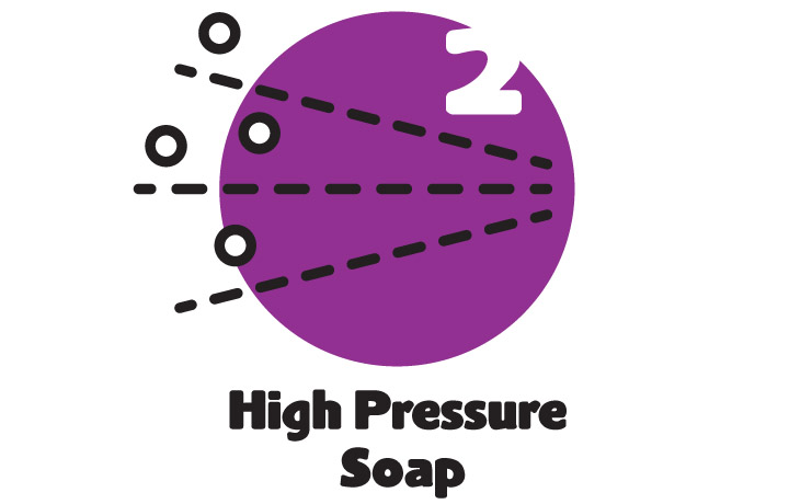 Purple Octopus Multiwash Self Serve Car Wash High Pressure Soap