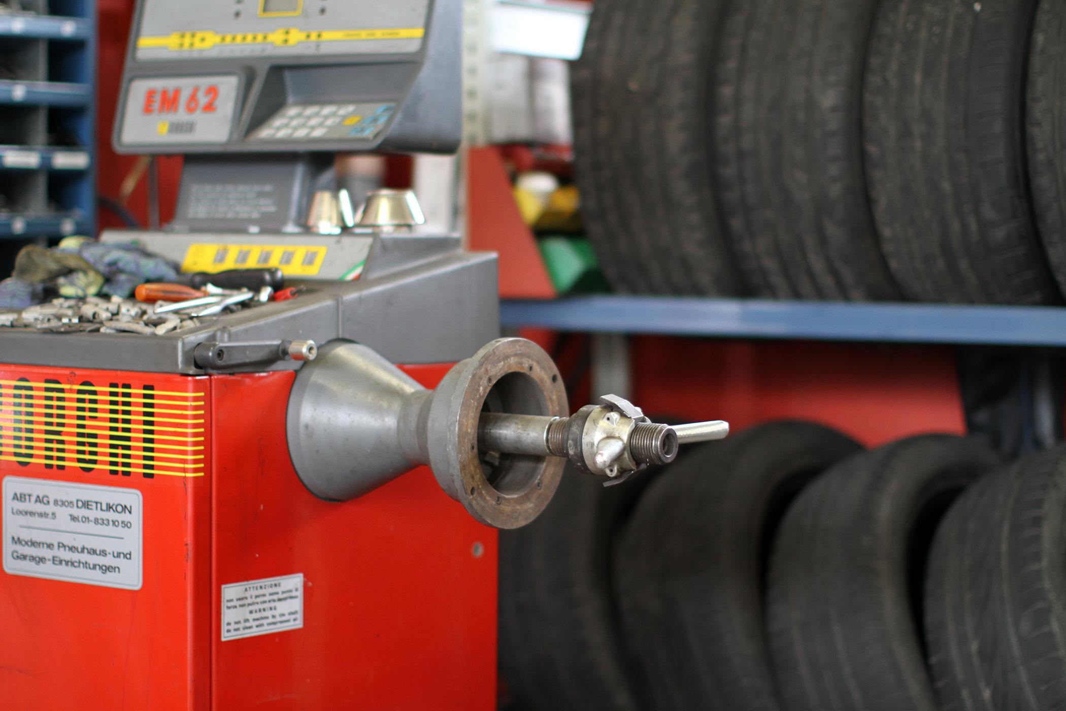 Garage Roland Rüegg - Reifenservice