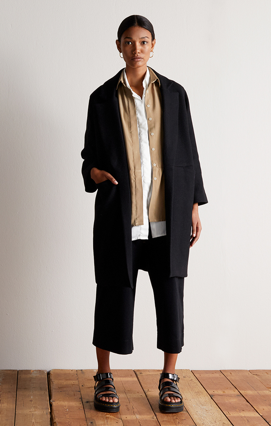 Take Care_Notch Lapel Coat