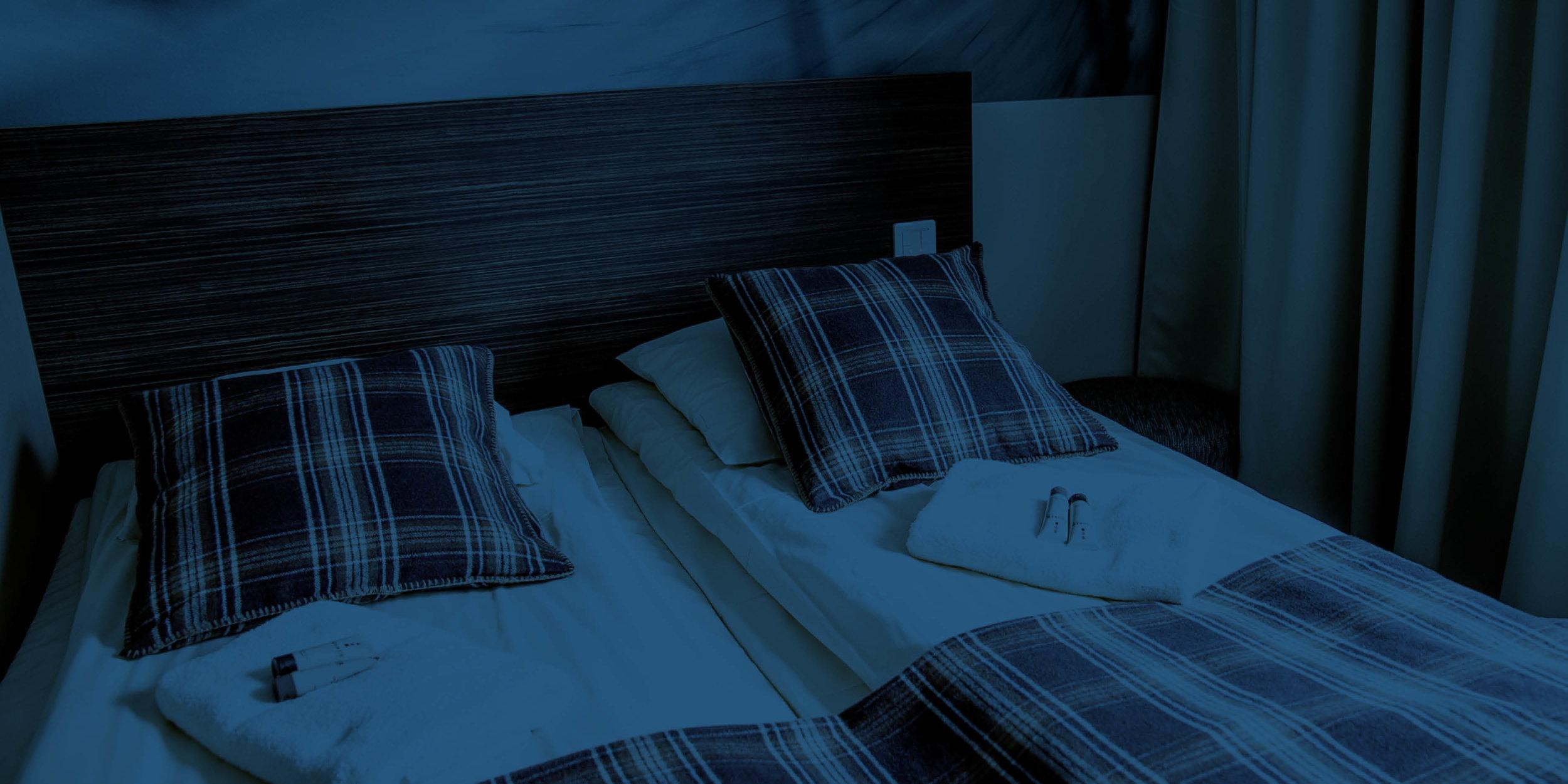 Upptäck våra trevliga hotellrum -