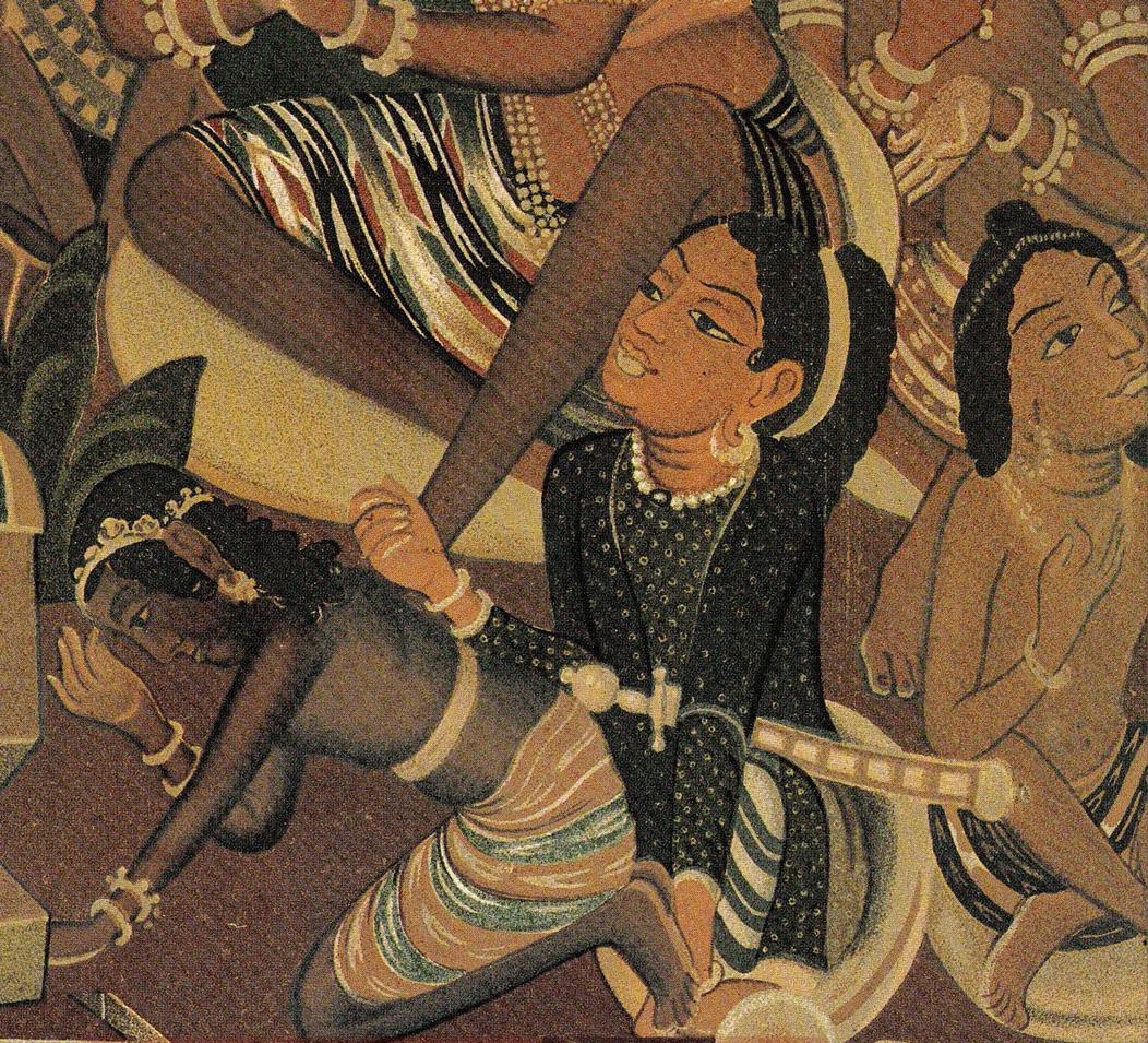 Jain scriptures. Image © V & A Museum, London