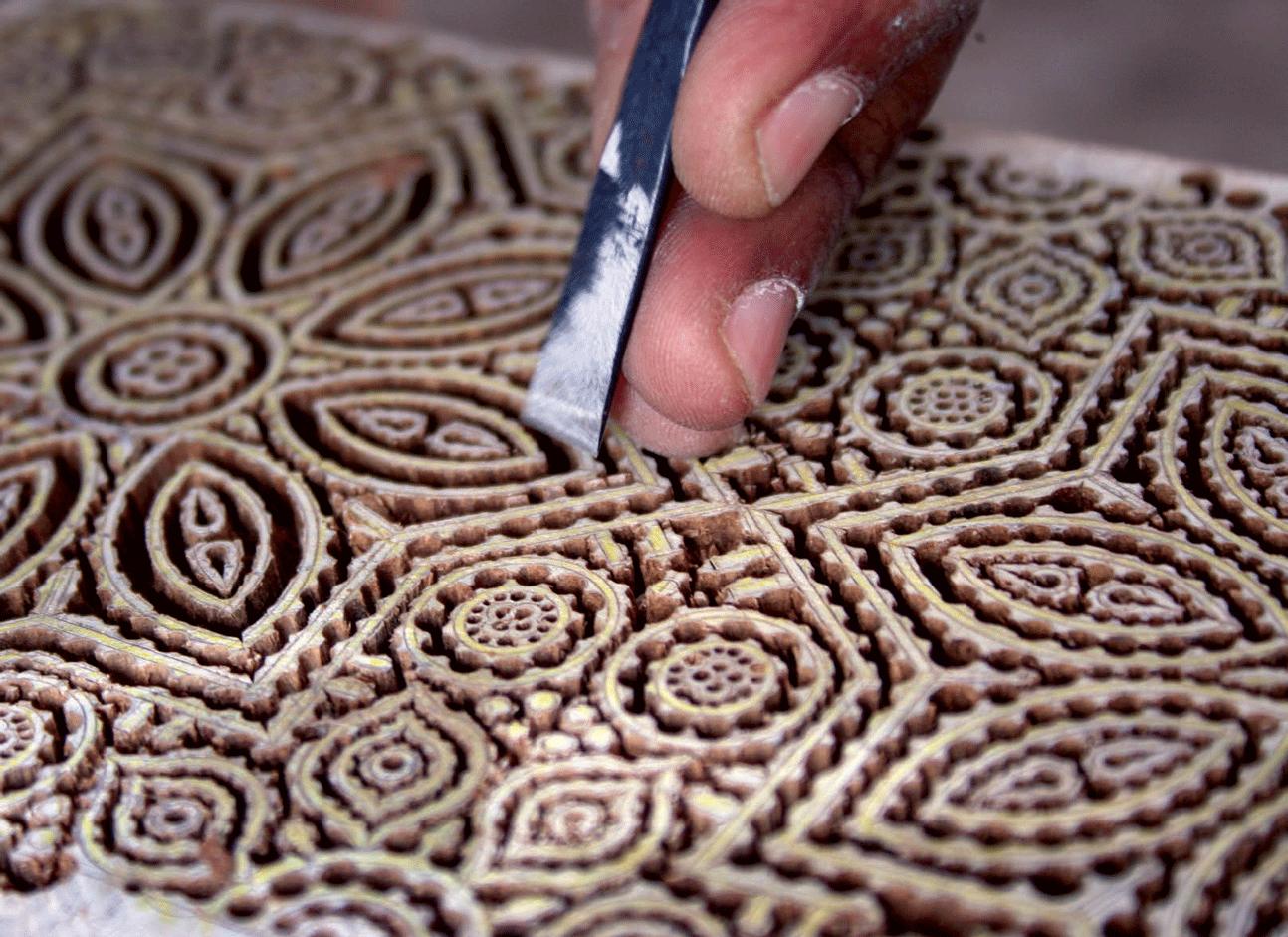 Crafting the blocks