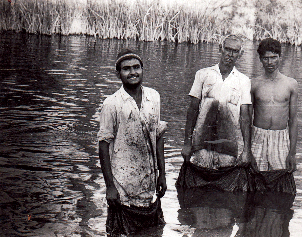 Dyers, River Saran, Dhamadka, early 1980s