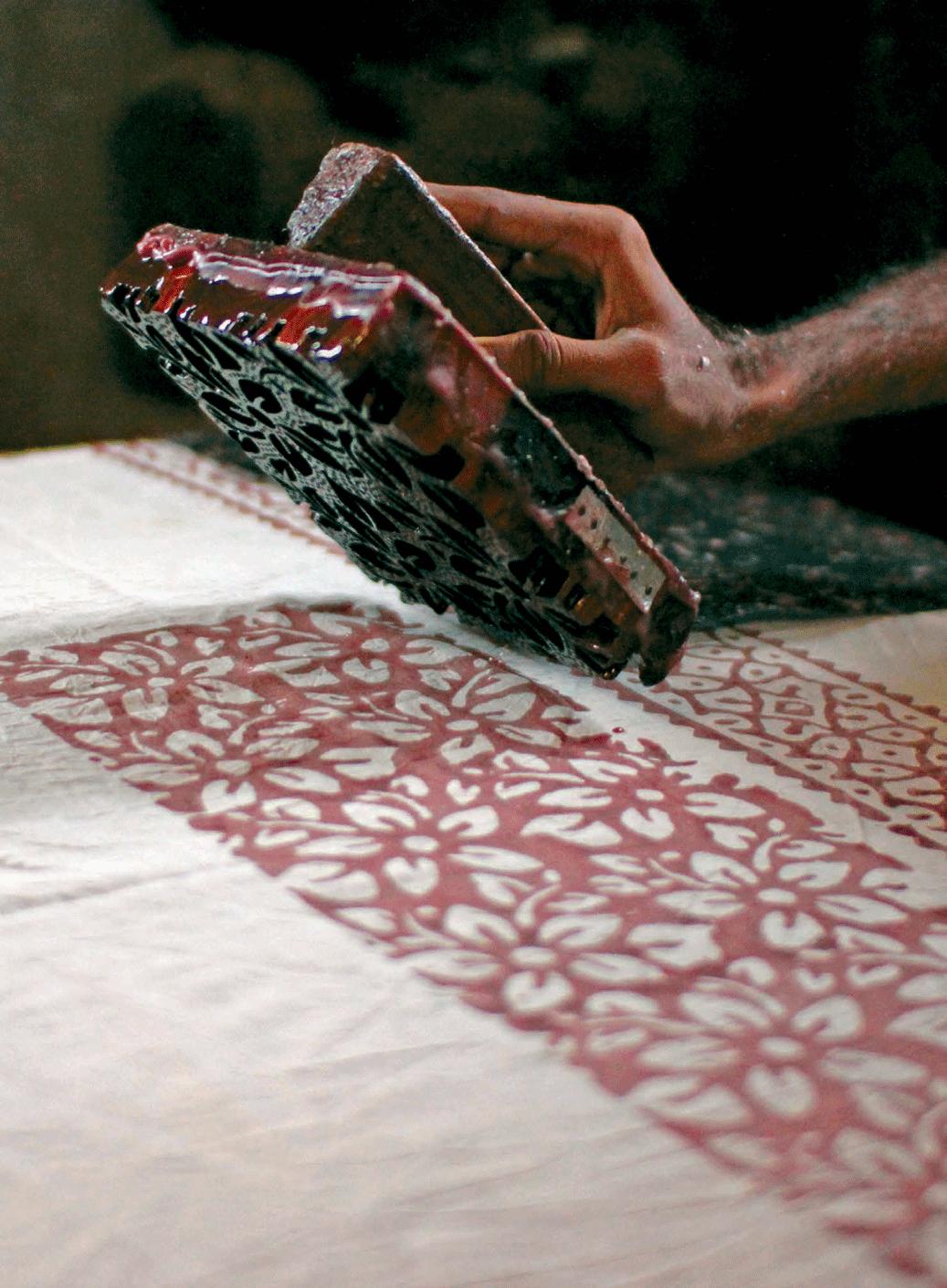 Batik workshop in Mundra