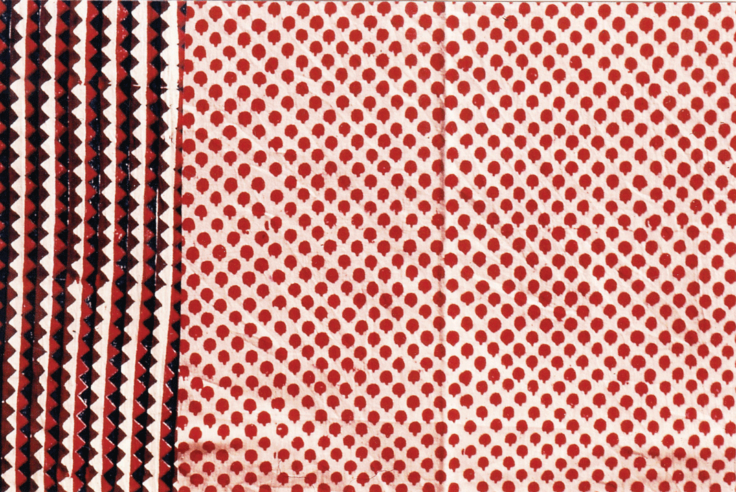 Traditional patterns revived by designers from Gurjari