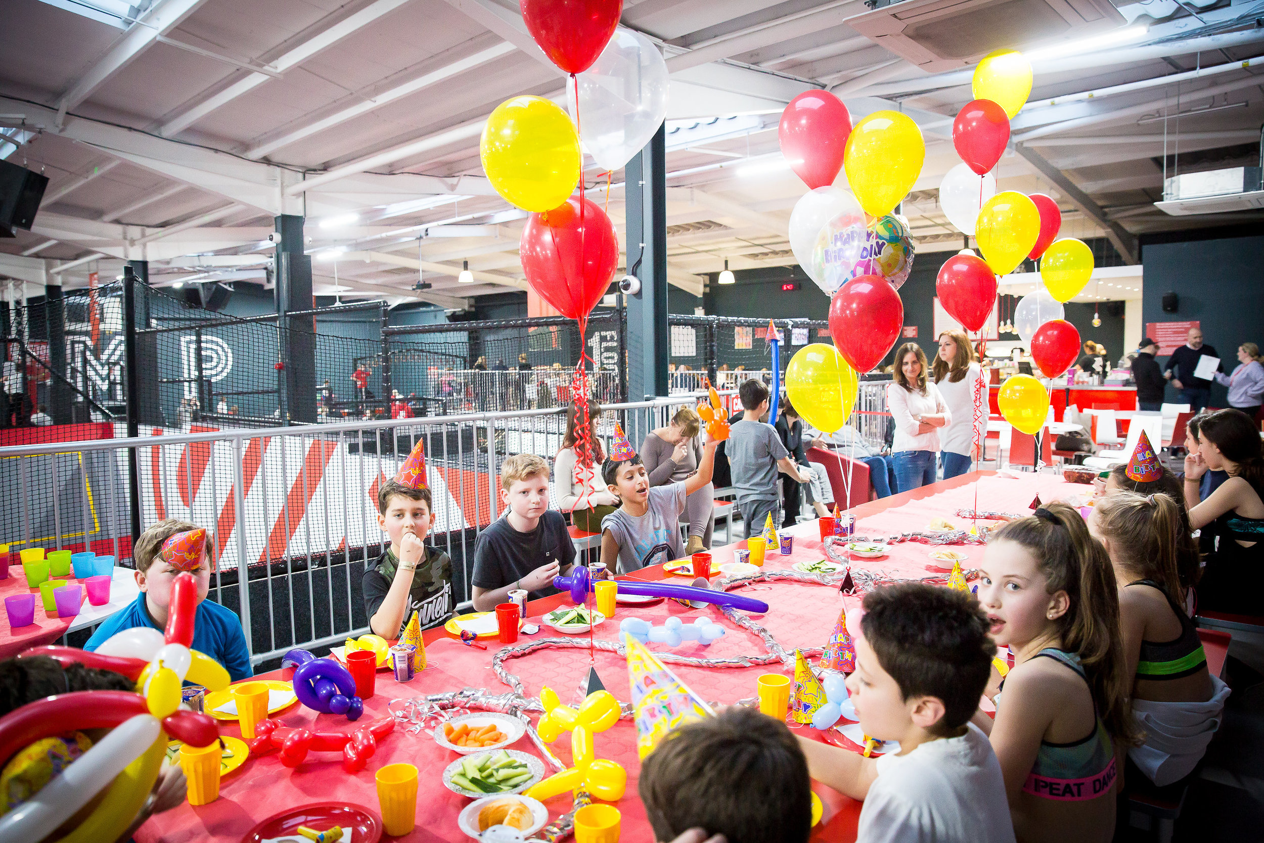 A Birthday party on Our Mezzanine Area With A Capacity Up To 40 Children