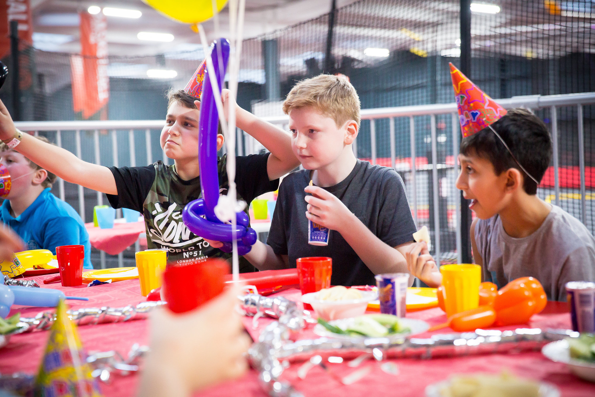 A fantastic party at our essex trampoline park