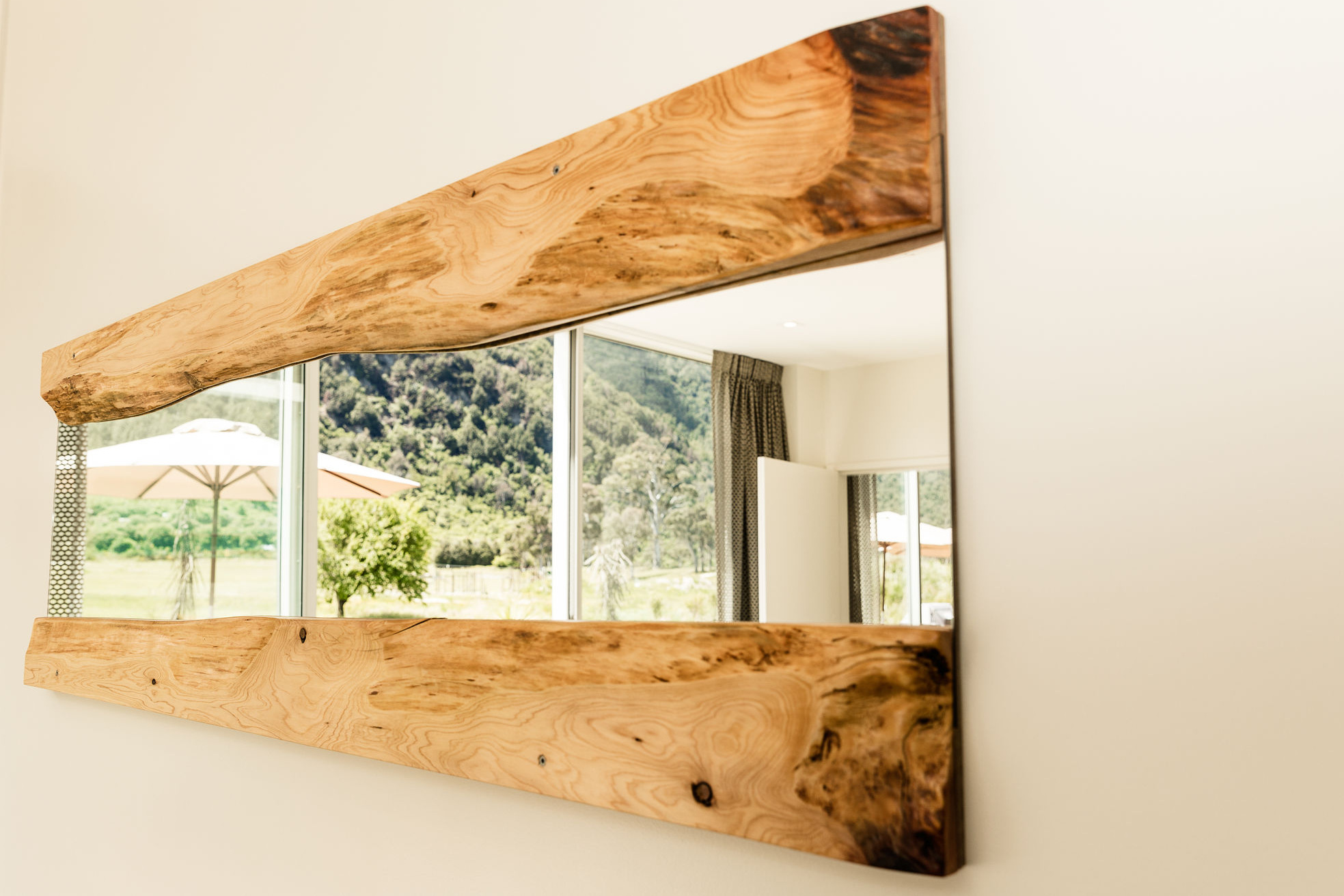 Wall mount Macrocarpa Mirror,   Price.