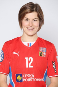 Hana Koníčková – Czech women's floorball team, player in NST Lappeenranta (Finland)