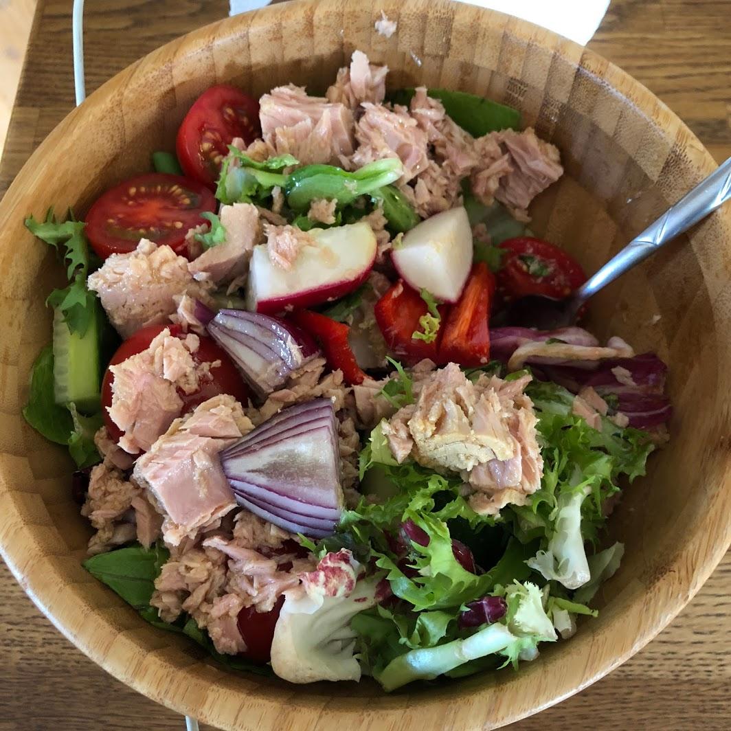 Salát avokádo/tuňák -  video recept zde