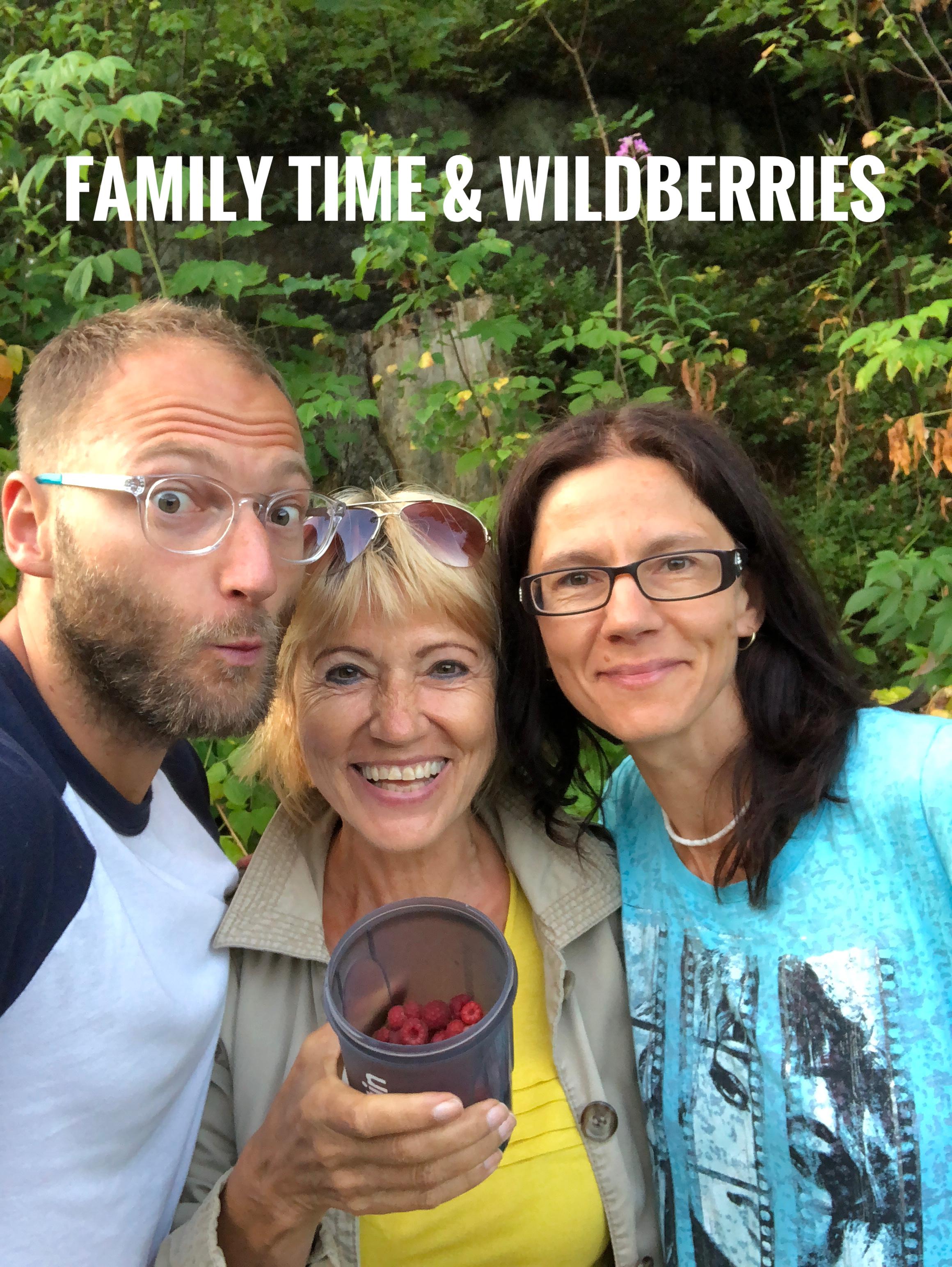 Rodina a dary přírody -