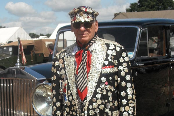 Alfred Dole Pearly King of St Pancras
