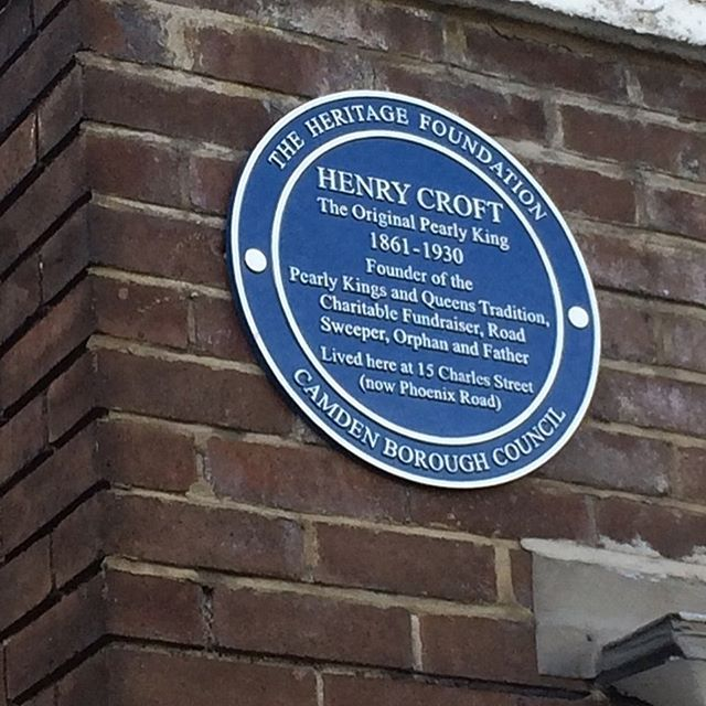 A fitting tribute to our King Of Kings Mr Henry Croft, I had the pleasure of unveiling the plaque where Henry's last address was. x