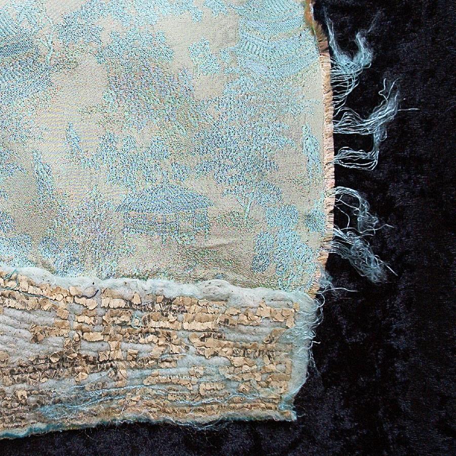 detail - deconstructed garment