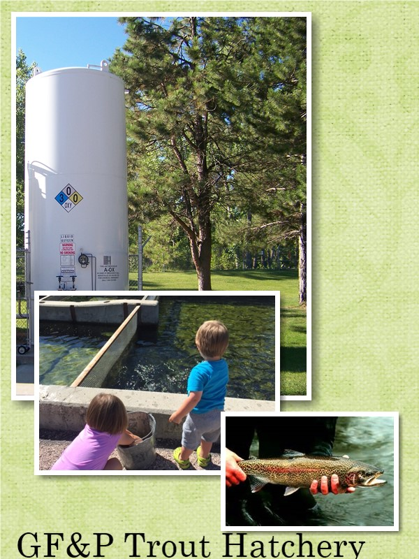 South Dakota Game Fish & Parks liquid Oxygen