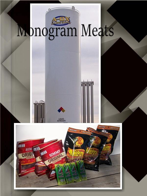 Monogram Meat Liquid Nitrogen