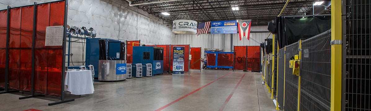 DAIHEN Solution Centers are the best way to experience our robotic, welding, and cutting technology innovation firsthand. Here, we develop new applications, enhance existing applications, perform benchmark tests, and much more.