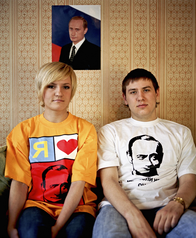 Tanya Skoropistseva and Lyosha Sobolkov