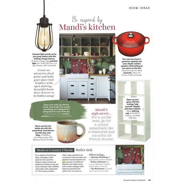 Country Homes & Interiors - January 2019