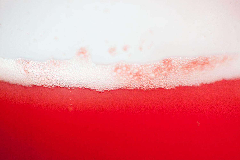 Ferment raspberry soda