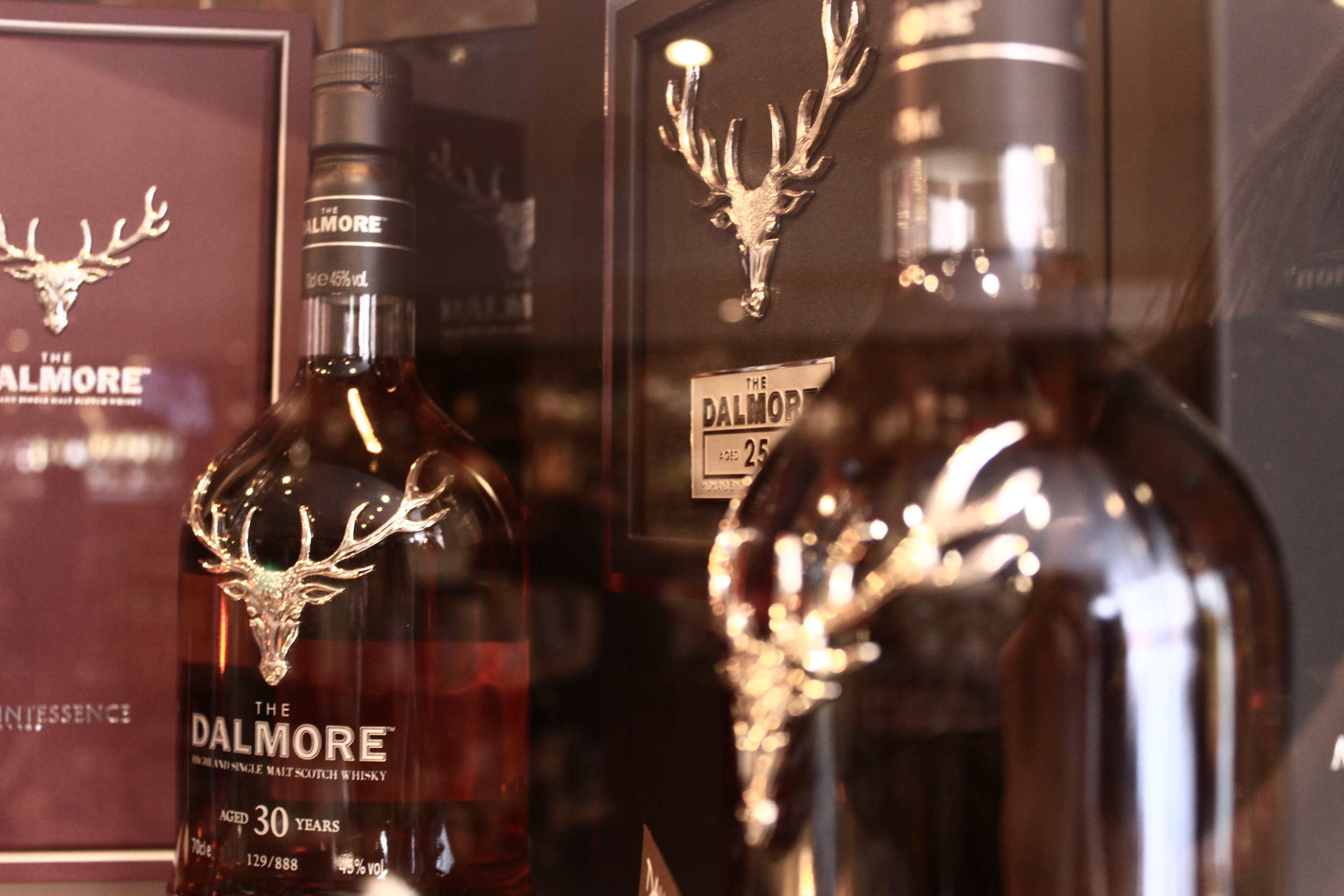 Dalmore's stag bottles; an authentic Scottish image or just canny branding?