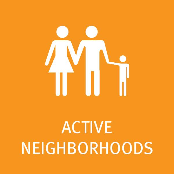 Active Neighborhoods