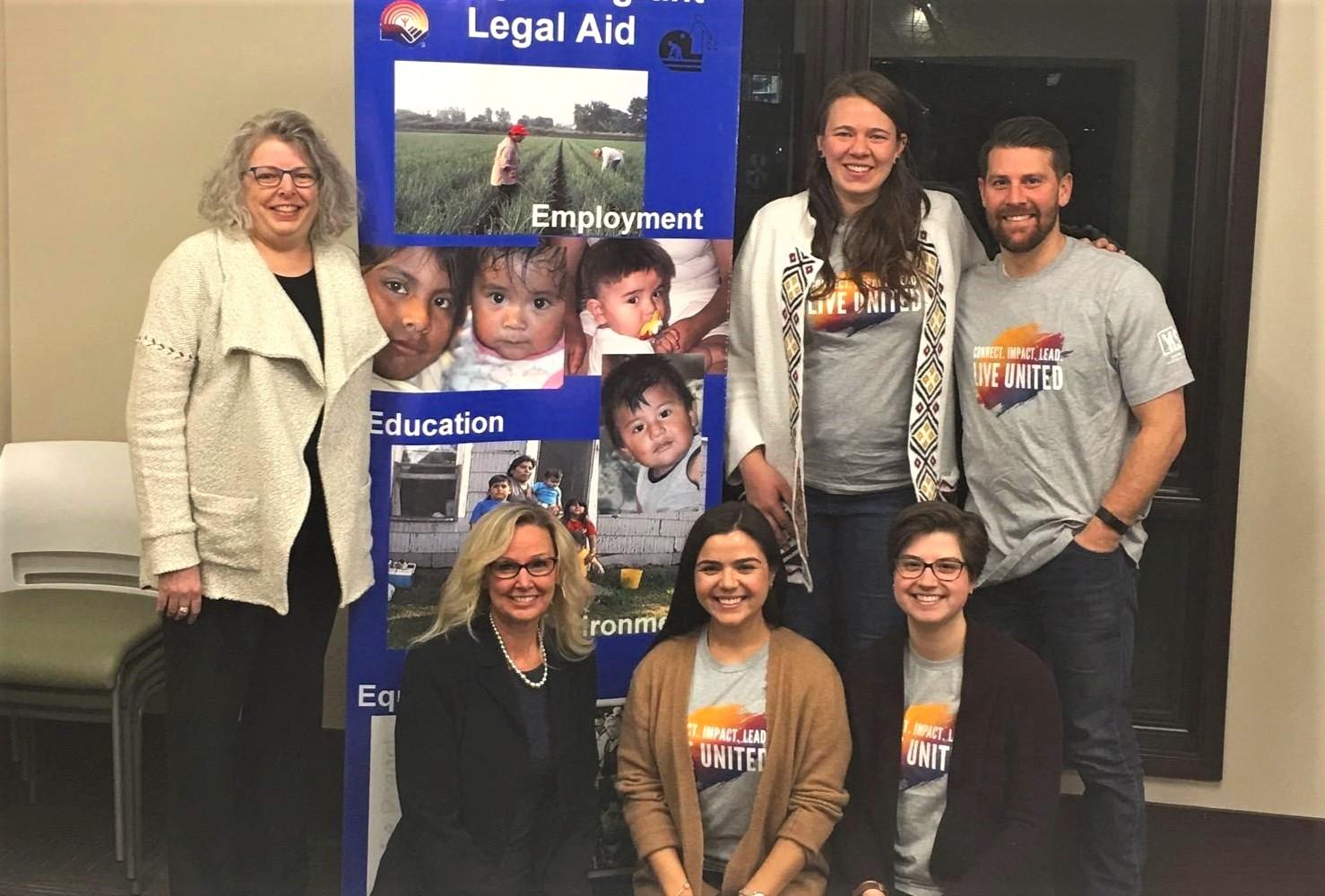 Grant Presentation at Migrant Legal Aid