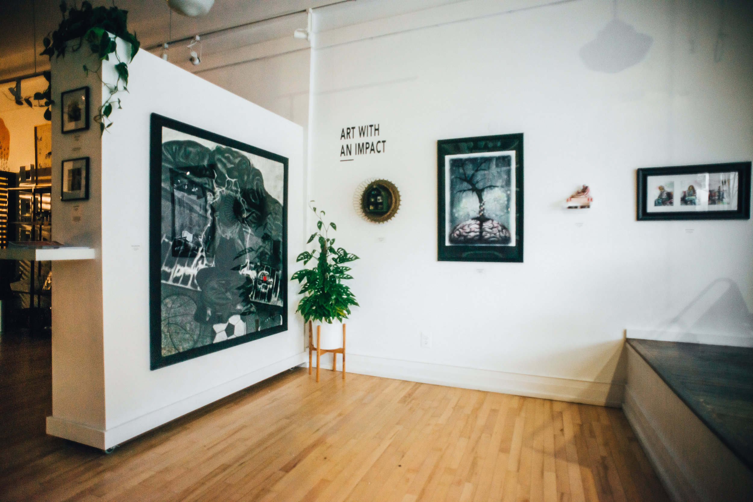 The gallery space at Light Gallery & Studio.   Photo by Michael Provoast