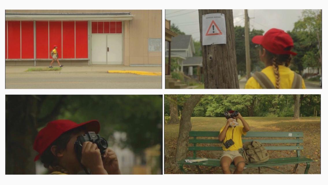 """Stills from """"Southside Journey,"""" a short film by Mariah Barrera."""