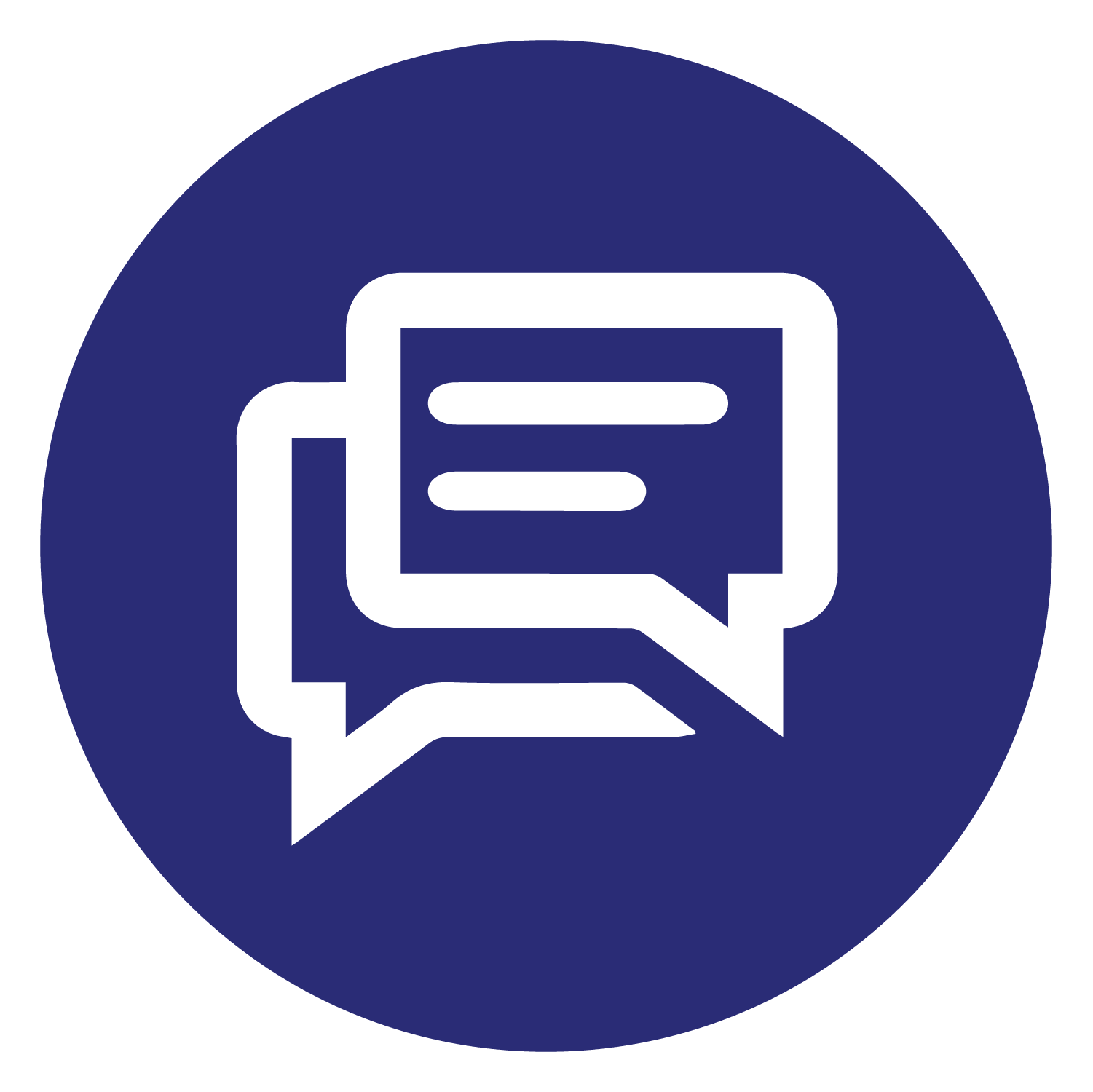 Use our convenient chat feature to get the help you need.
