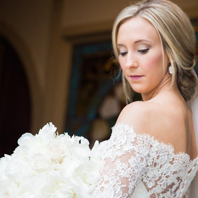 MRS. MAGGIE GLADNEY MCMINN   Photographer | Lindsey Vallas Photography Dress | Build a Bride by Heidi Elnora