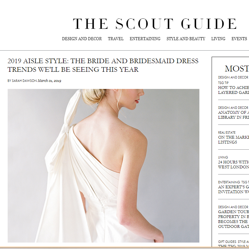 The Scout Guide - 2019 Aisle Style