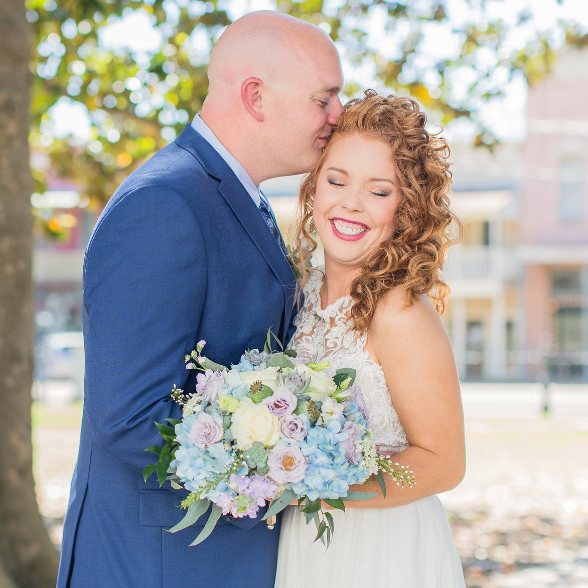 MRS. ANDREA BROOKS WEST  Photographer | Katelynn Anne Photography Dress | Martina Liana