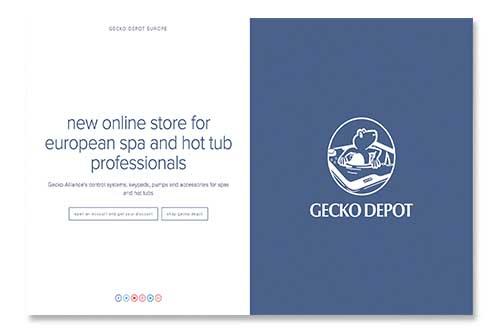 Nouveau Gecko depot europe