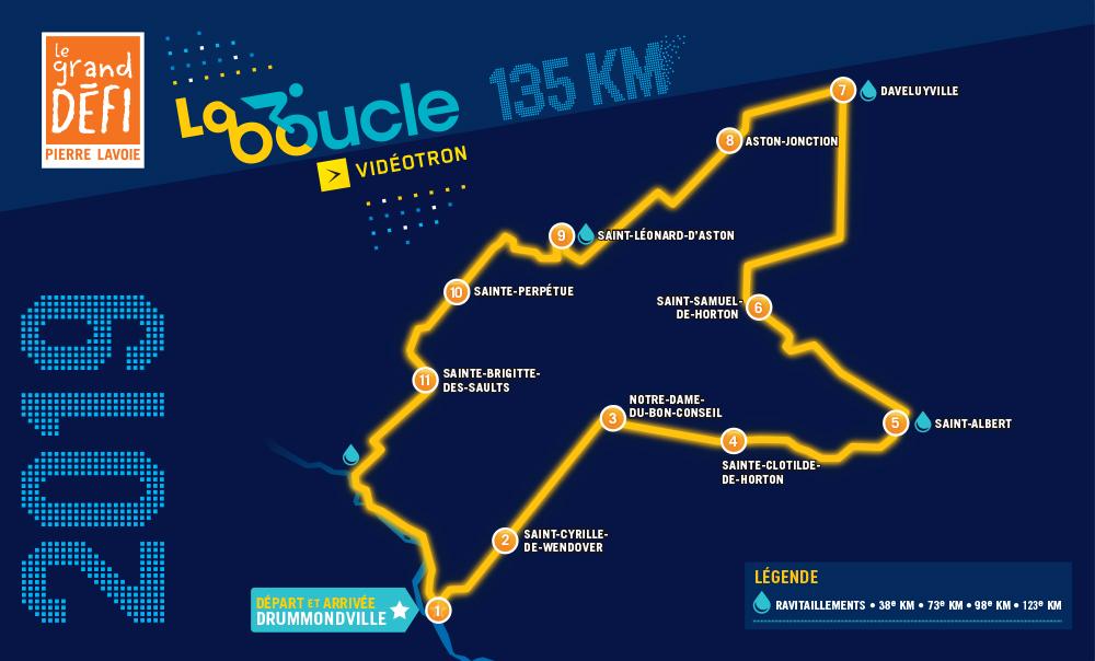 La Boucle - Le Grand Défi Pierre Lavoie - 2019