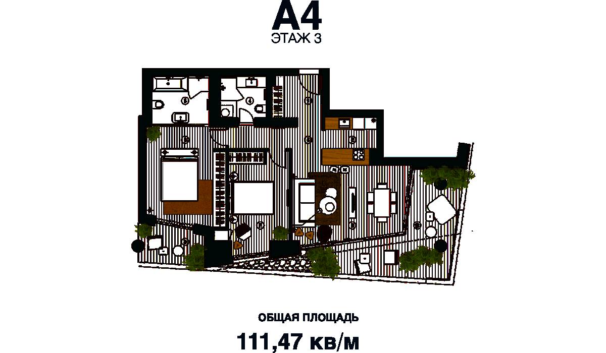 Апартаменты Dukley Residences
