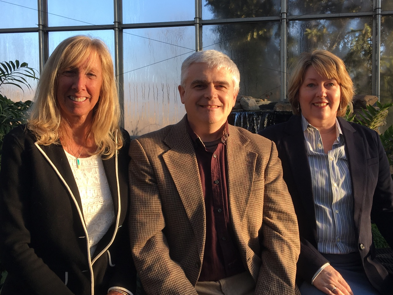 From left to right: Barb Groff, Lee Bryan, and Holly Poulin