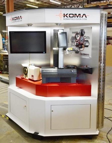 Koma Precision's Crate Exhibit - Built by Zig Zibit