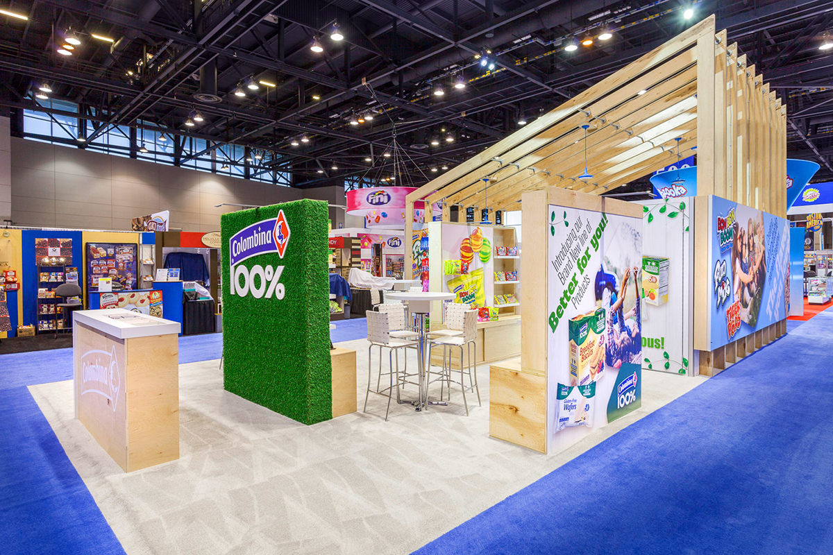 Zig Zibit Custom Rental Trade Show Booth