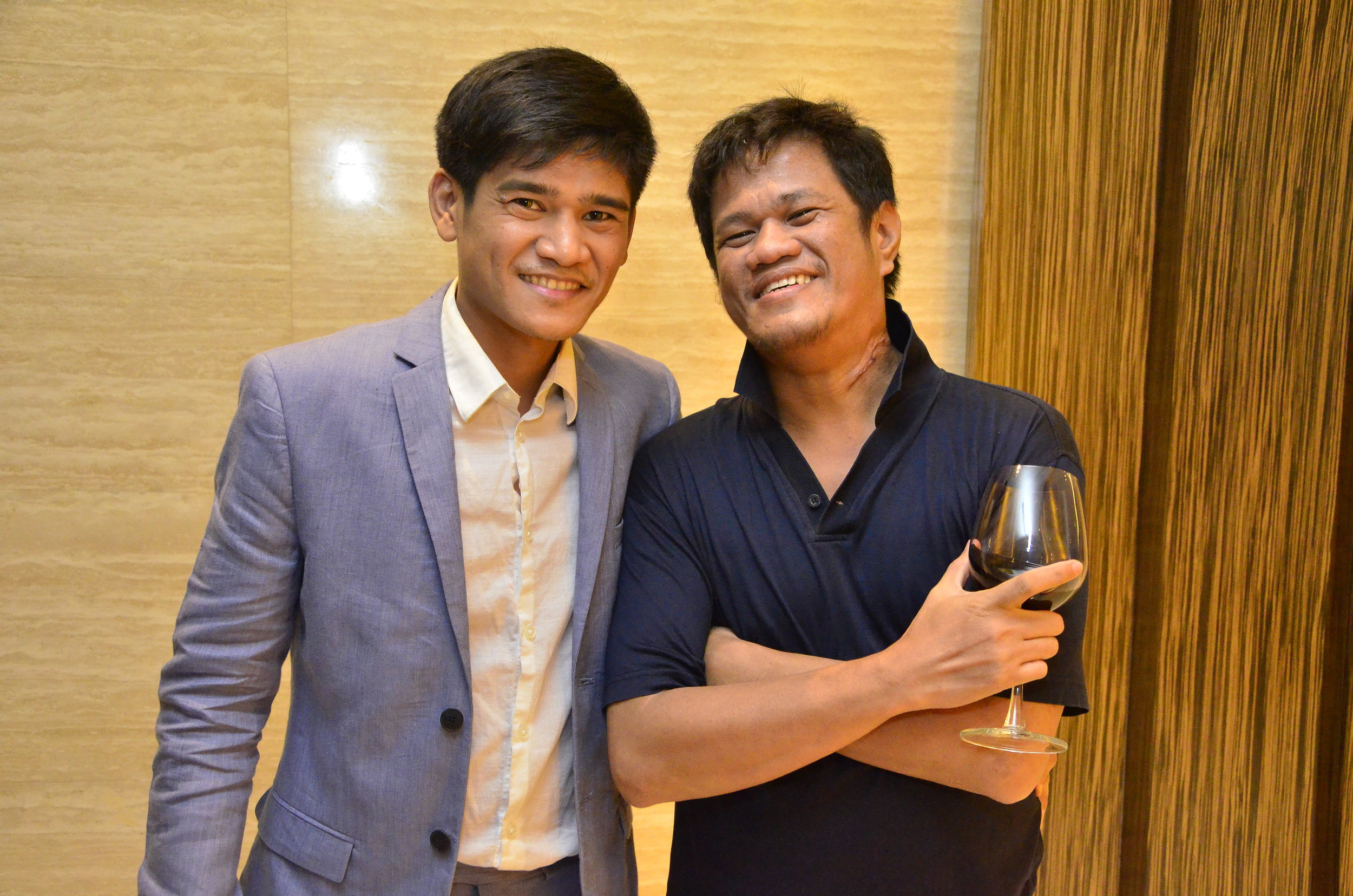 With the Curator - Philip Paraan