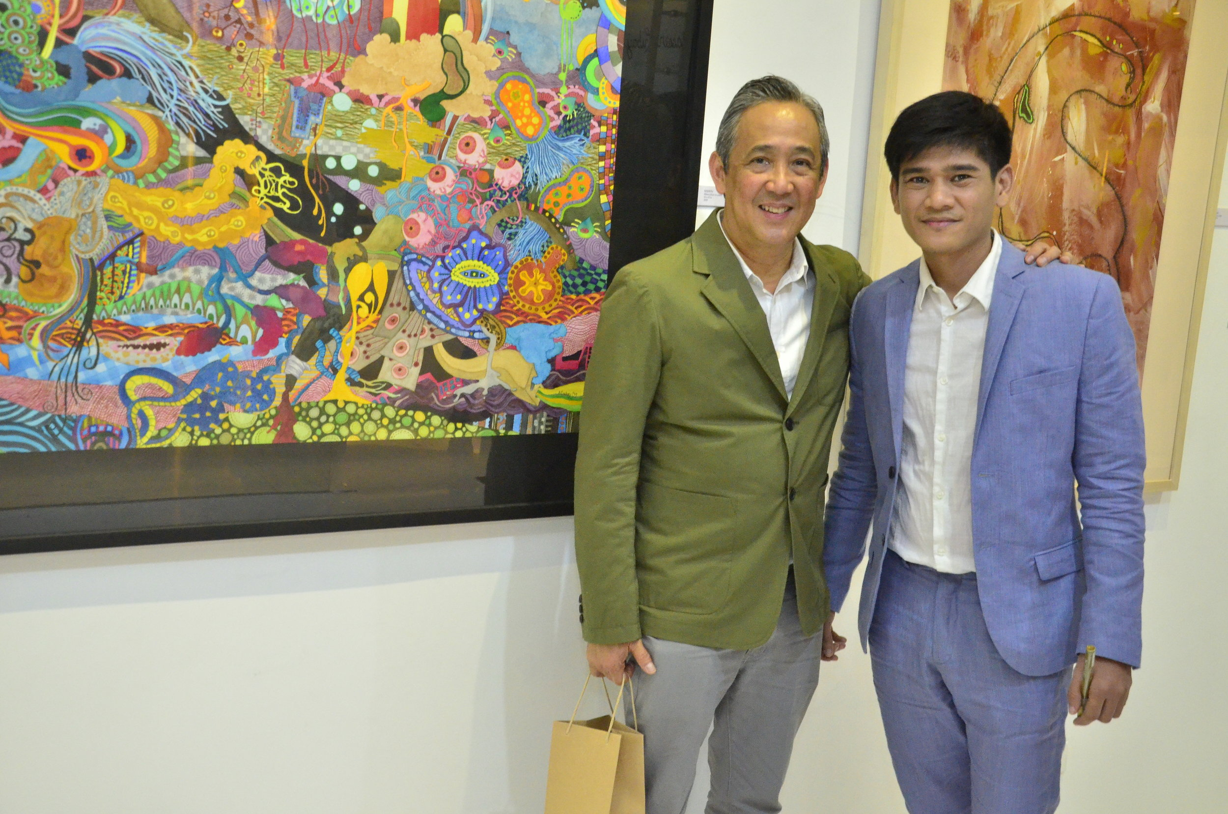 With Guest of Honor - Dean Joey Yupangco
