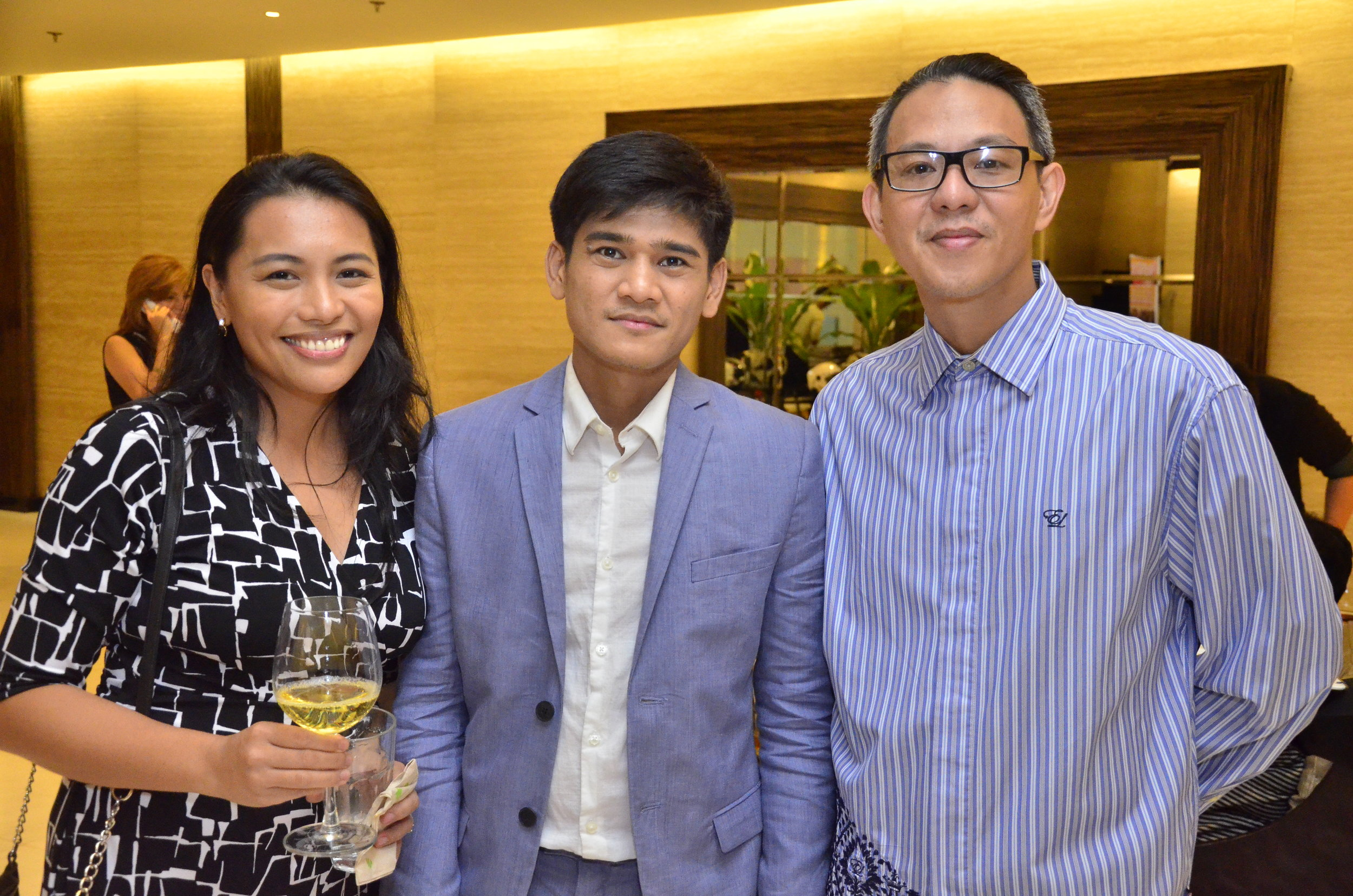 With Guest of Honor Banaue Miclat-Janssen and Paul Morales