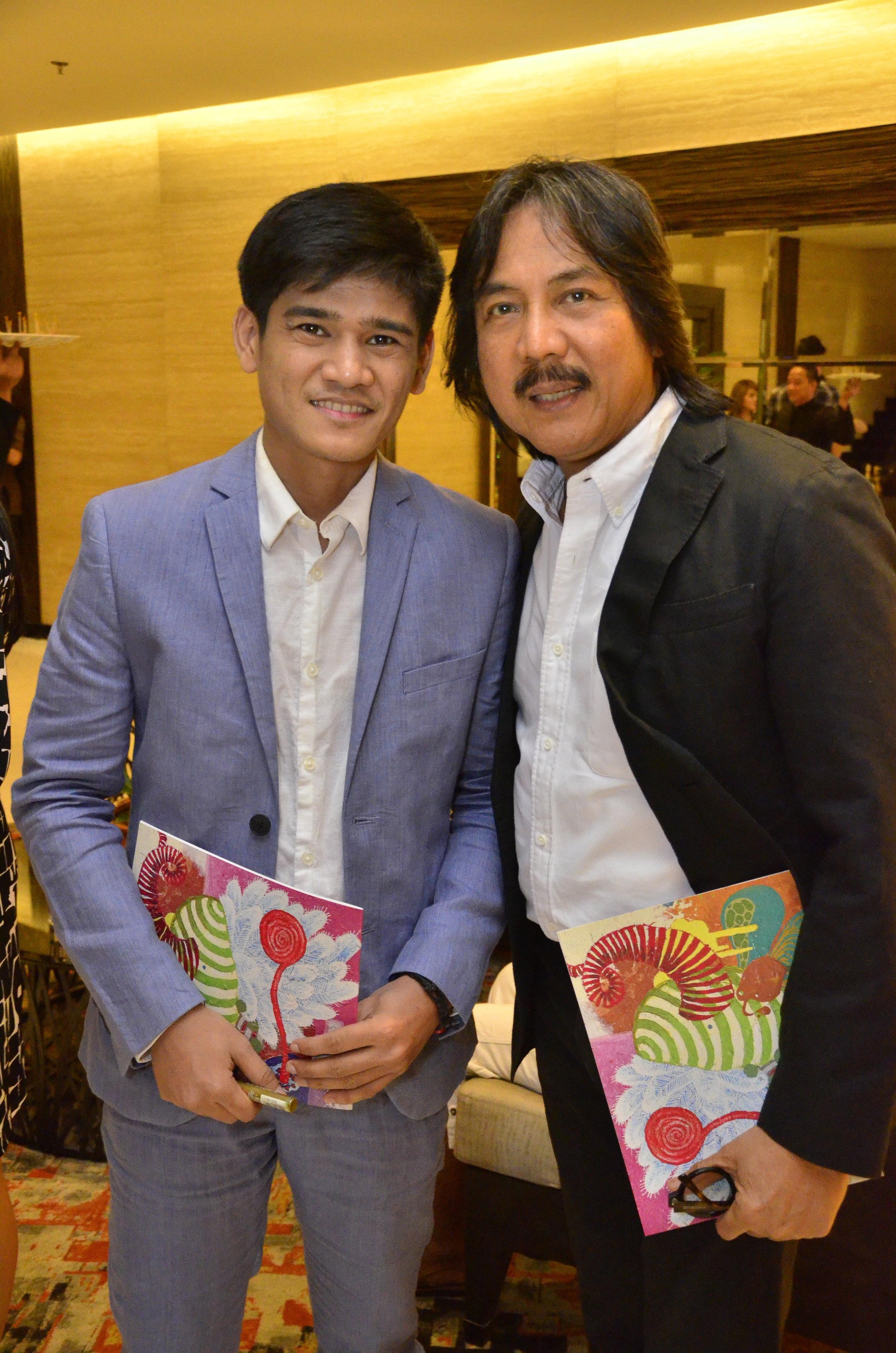 With Guest of Honor Nestor Vinluan