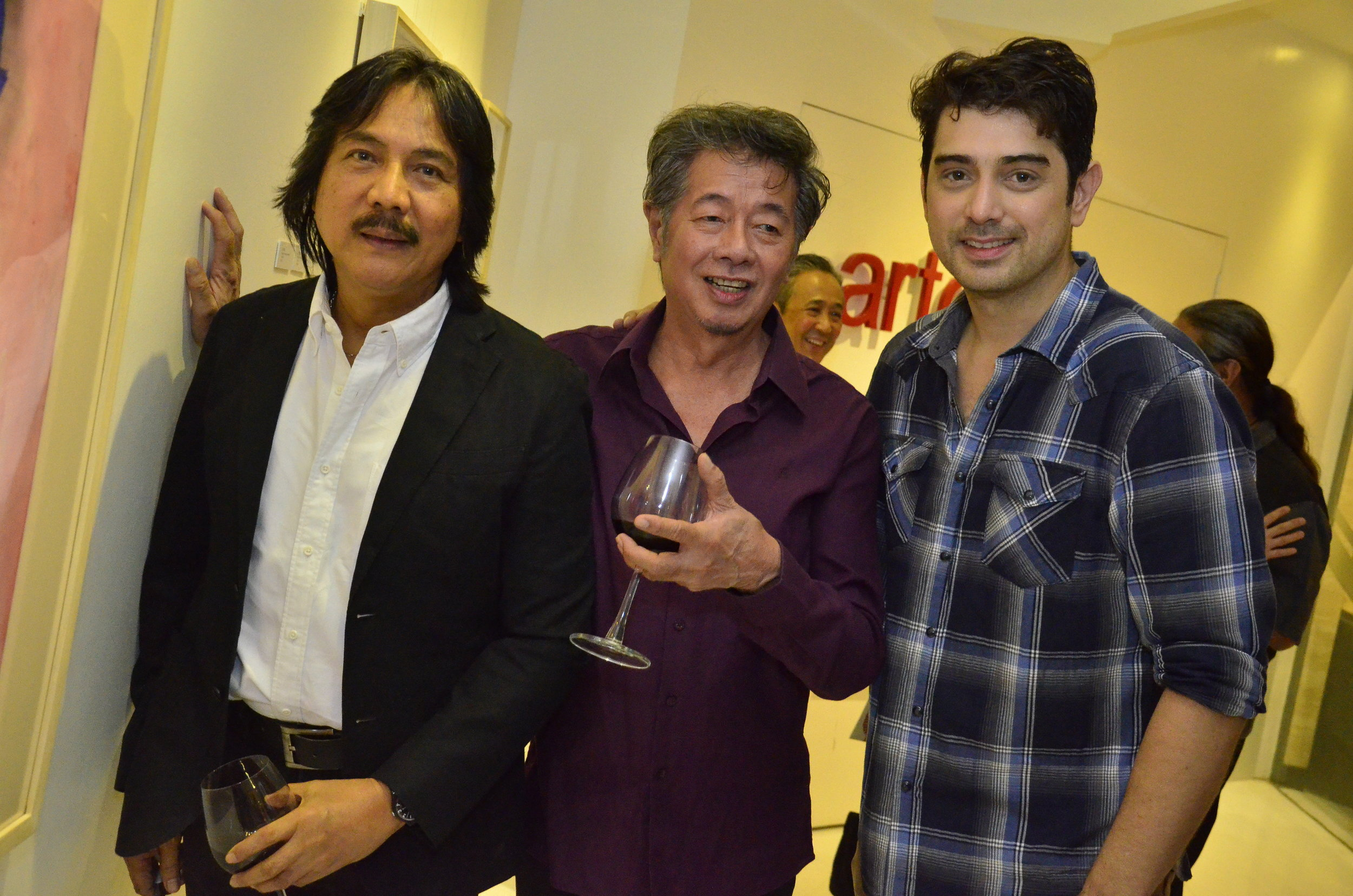 With Guest of Honor Nestor VInluan, Roy Veneracion and Ian Veneracion