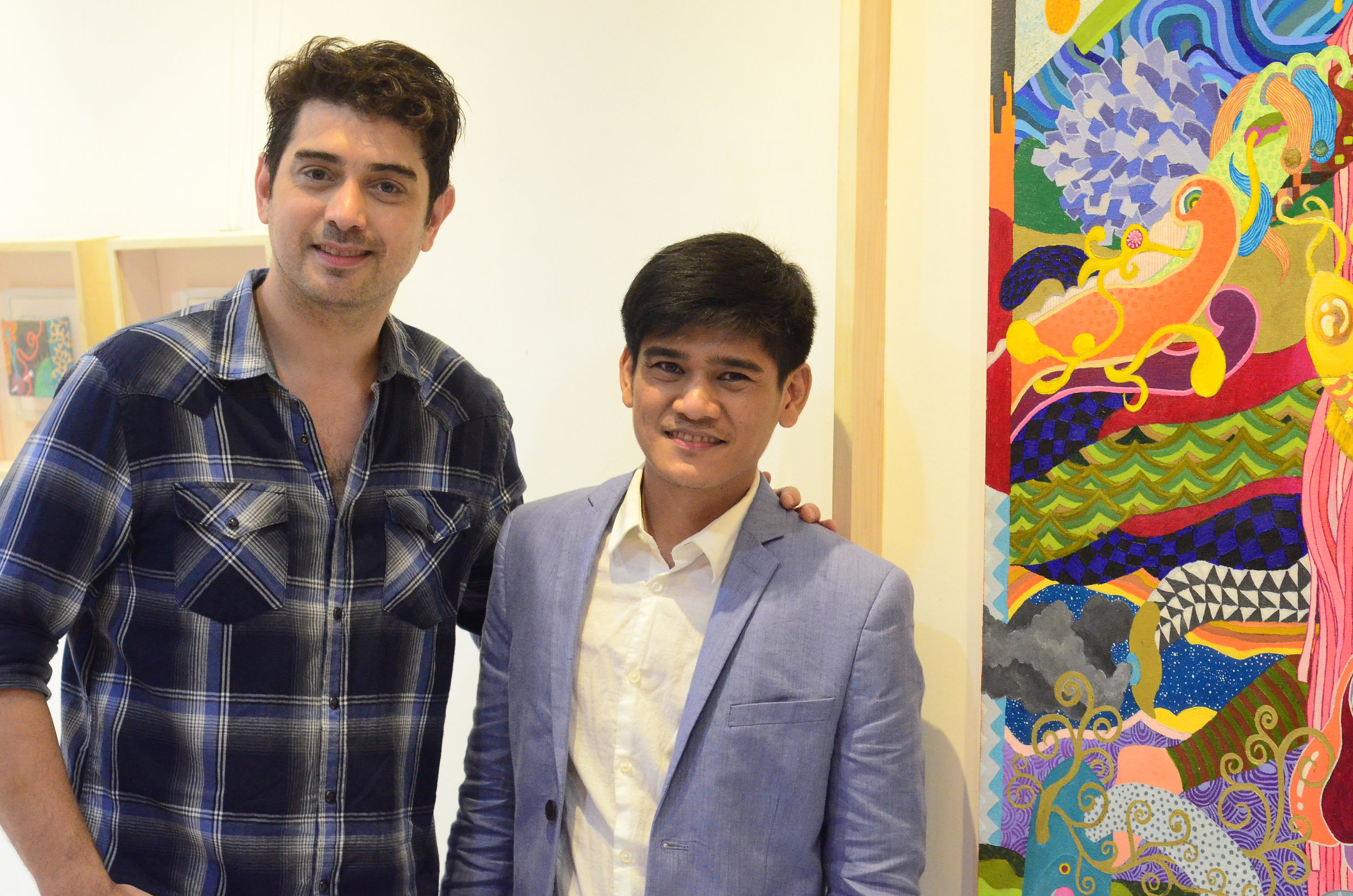 With Guest of Honor - Actor and Visual Artist Ian Veneracion