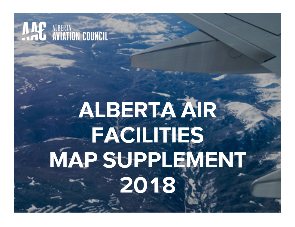 2018 Air Facilities Paper Map and Supplement