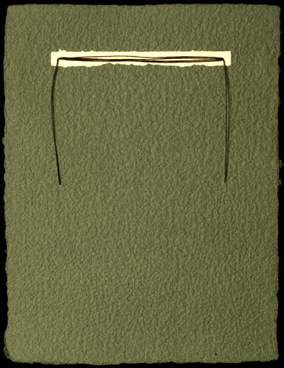 """""""Green Top Bound Binder"""""""